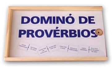 Resultado de imagem para dominó de provérbios